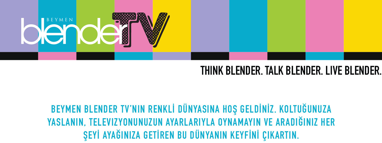 Think Blender. Talk Blender. Live Blender