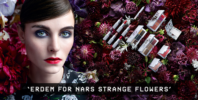 ERDEM FOR NARS STRANGLE FLOWERS