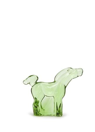 Moser Yeşil At Formlu Mini Kristal Heykel Ürün Resmi