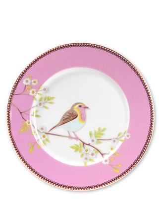 Pip Studio Floral Pembe Kahvaltı Tabağı Standart