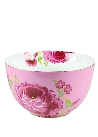 Pip Studio Floral Pembe Gül Desenli Kase Ürün Resmi