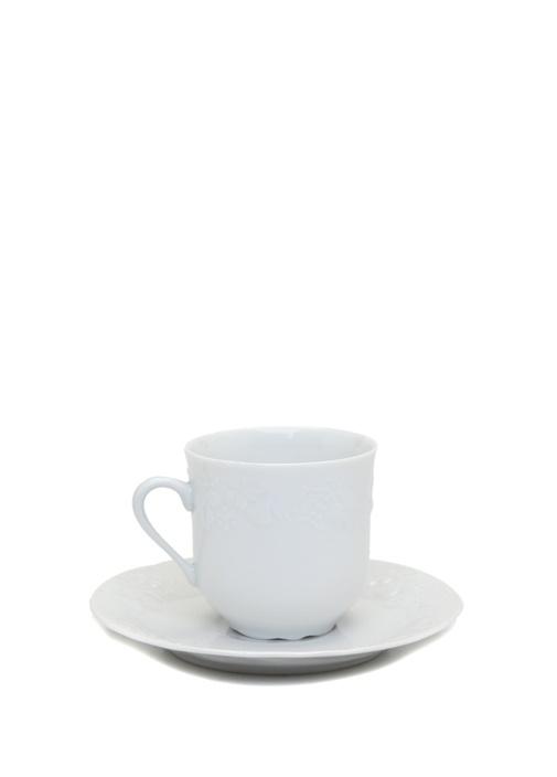 Beyaz Porselen Kahve Fincanı