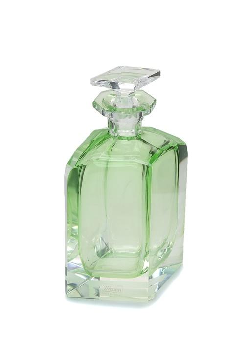 Yeşil Kapaklı Kristal Karaf