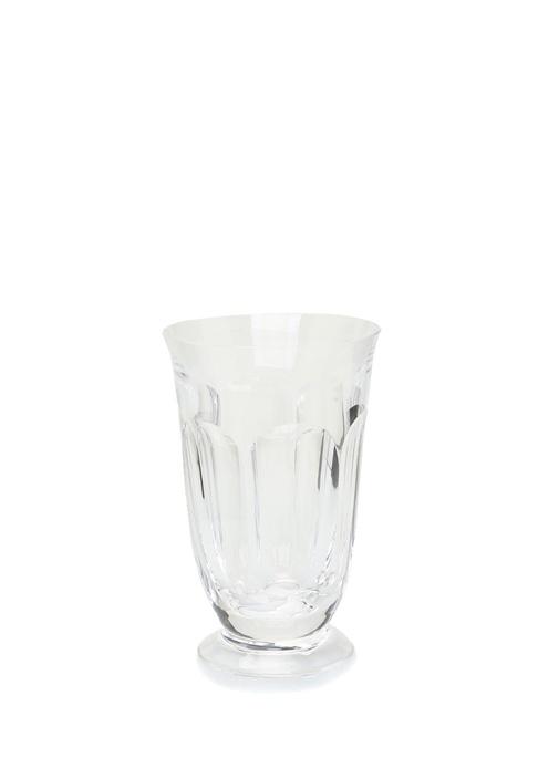 Şeffaf Kıvrım Detaylı Kristal Meşrubat Bardağı