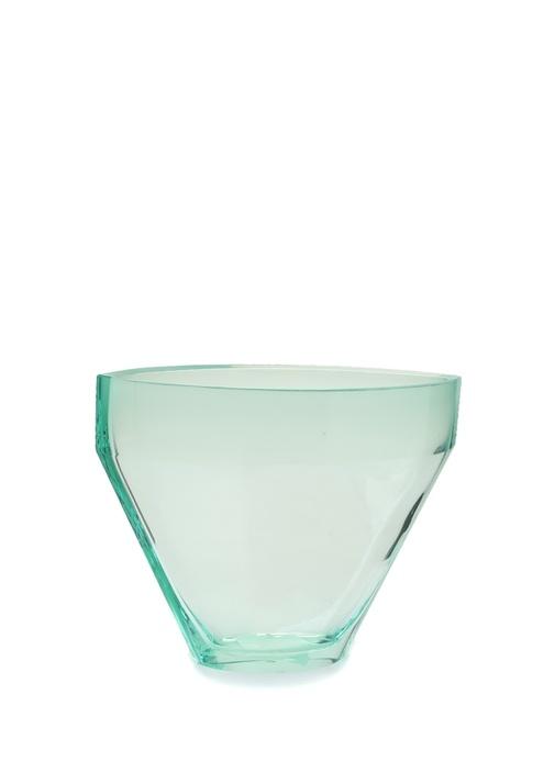 Mavi Kristal Vazo