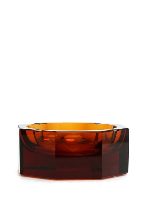 Kırmızı Kristal Vazo