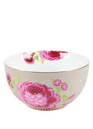 Pip Studio Floral Gül Desenli Haki Kase Standart