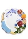 Royal Beyaz Mavi Çiçek Desenli Yemek Tabağı