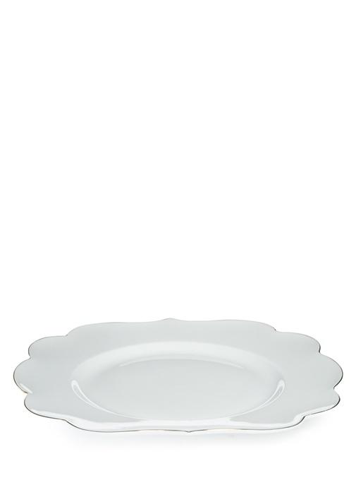 Royal Beyaz Kahvaltı Tabağı
