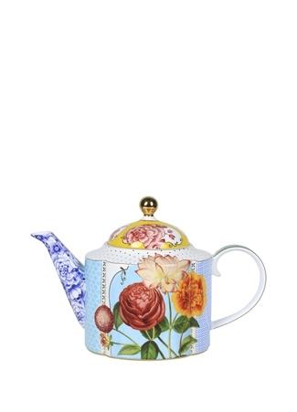 Pip Studio Royal Mavi Çiçek Desenli Demlik Ürün Resmi