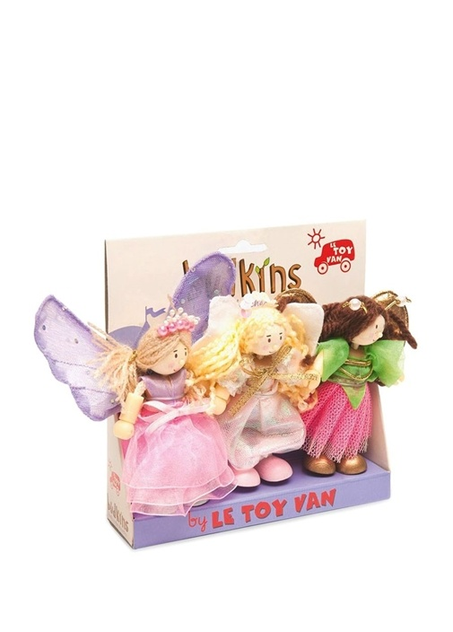 Truth Fairies 3lü Ahşap Oyuncak Seti