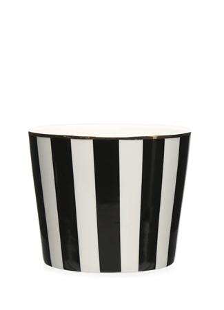 Miss Etoile Siyah Beyaz Çizgili Seramik Kupa Ürün Resmi