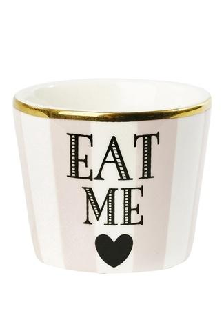 Miss Etoile Eat Me Baskılı Porselen Sofra Süsü Pembe Ürün Resmi