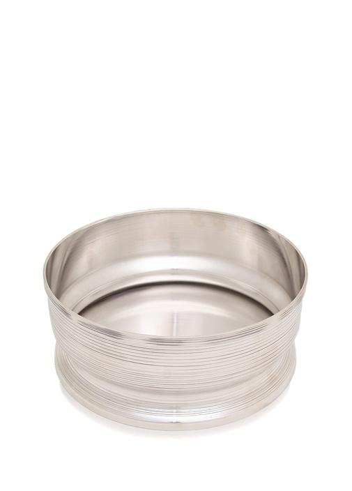 Spin Gümüş Kaplama Vazo