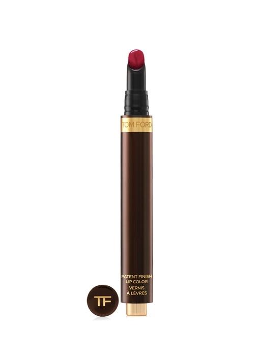 Patent Finish Lip Color Red Corset Ruj