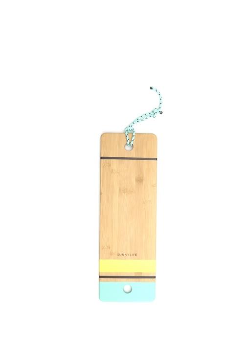 Renk Detaylı Unisex Çocuk Ahşap Sörf Tahtası