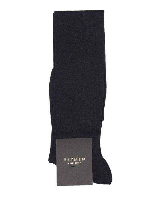 Lacivert Bambu Çorap