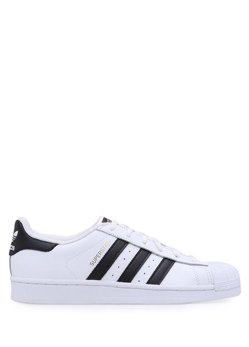 Adidas Siyah-Beyaz KADIN  Superstar Foundation Beyaz Kadın Sneaker 181023 Beymen