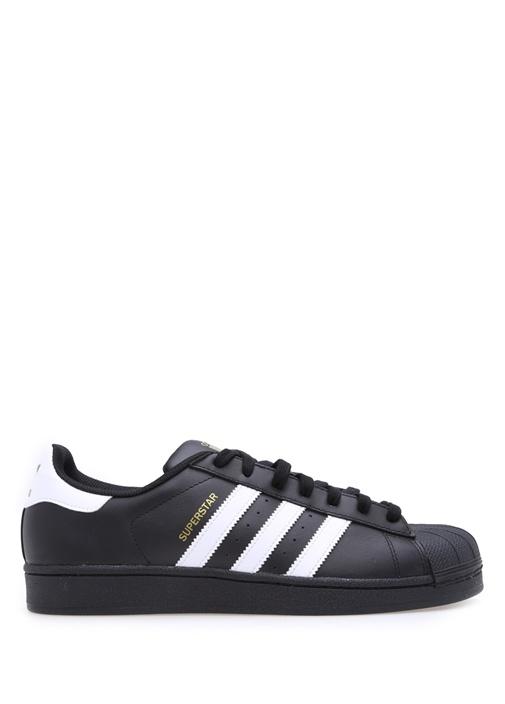 Superstar Foundation Siyah Erkek Sneakers