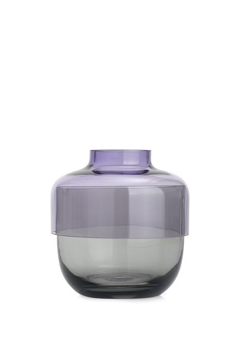 Fusion İkili Mor / Gri Vazo Seti