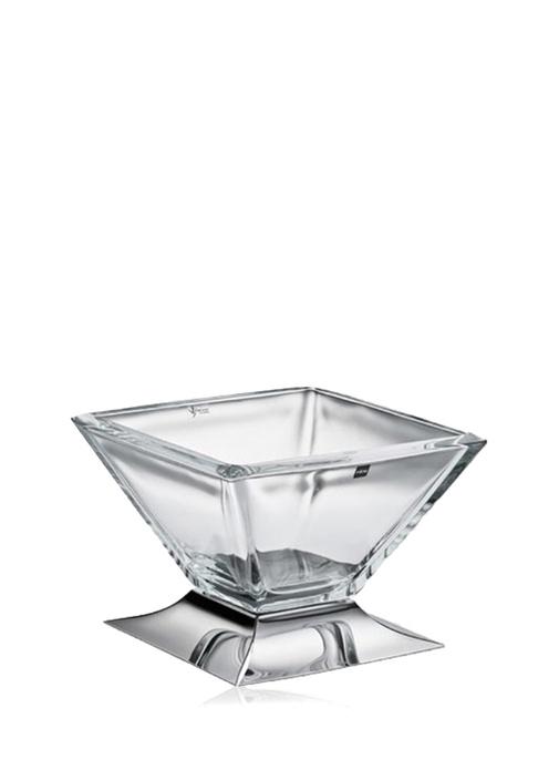 Lugano Medium Gümüş Kaplama Dekoratif Kase