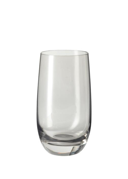 Sora Gri Cam Su Bardağı