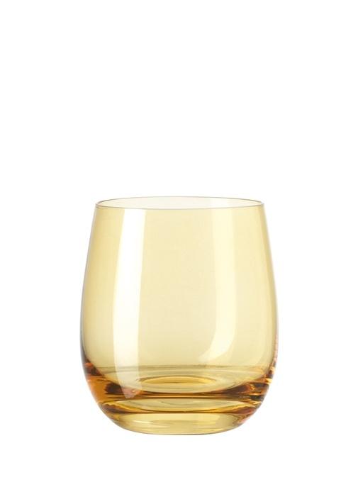 Sora Sarı Cam Su Bardağı