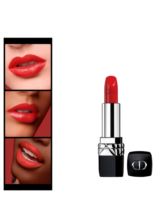 Rouge Dior 080 Red Smile Ruj