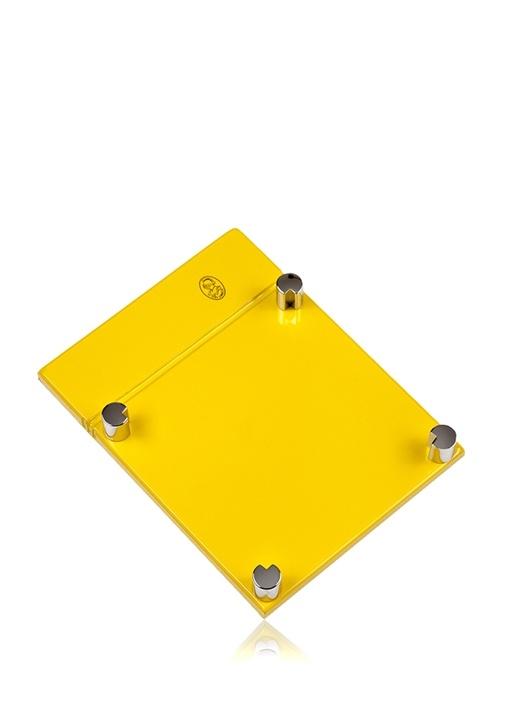 Sarı Dikdörtgen Formlu Post It Kutusu