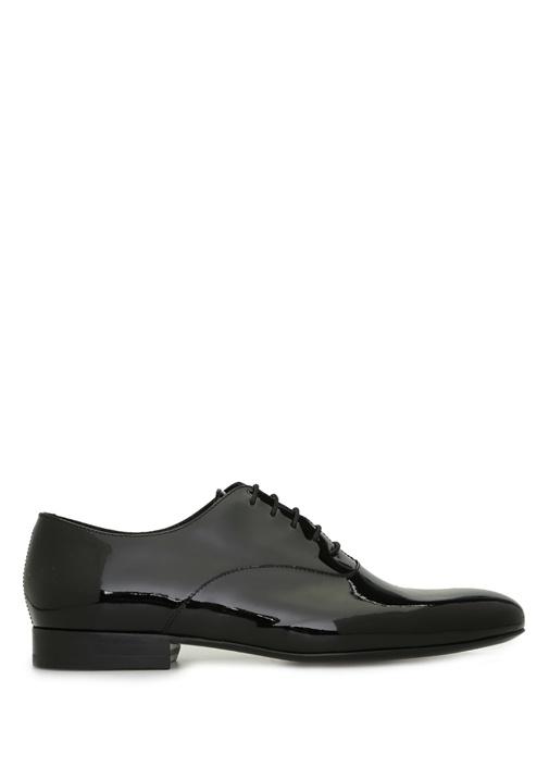 Siyah Erkek Rugan Ayakkabı