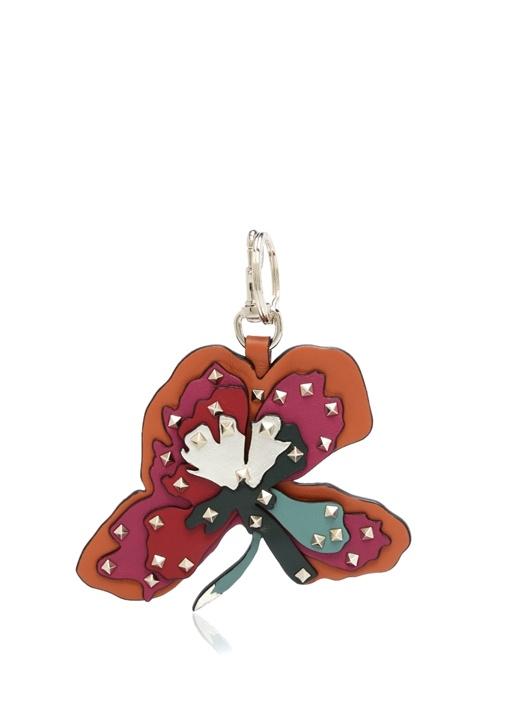 Valetino Garavani Çiçek Fromlu Formlu Anaktarlık