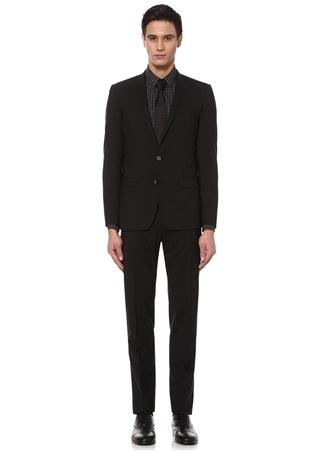 44 male Siyah Dolce&Gabbana Erkek Yün Takım Elbise IT