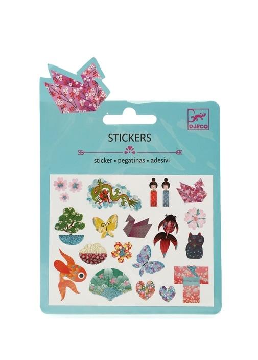 Japon Temalı Tasarım Sticker
