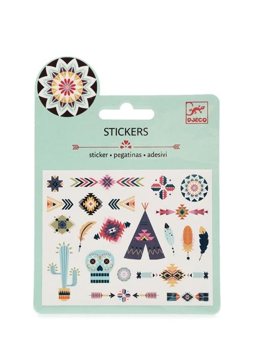 Batı Temalı Sticker