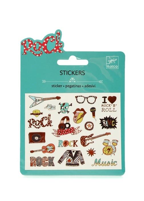 Pop Ve Rock Temalı Sticker