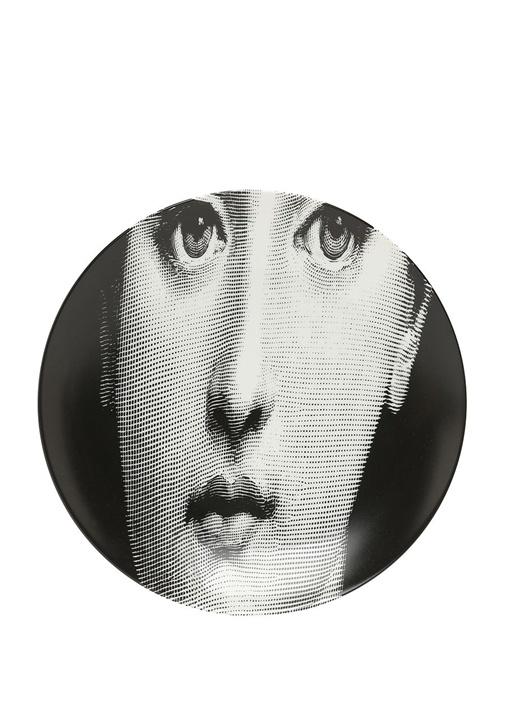 Tema E Variazioni Porselen Dekoratif Tabak