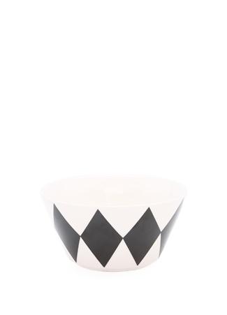 Miss Etoile Bone China Siyah Beyaz Kase Ürün Resmi