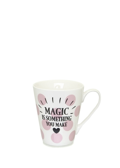 Magic Is Something You Make Baskılı Porselen Kupa