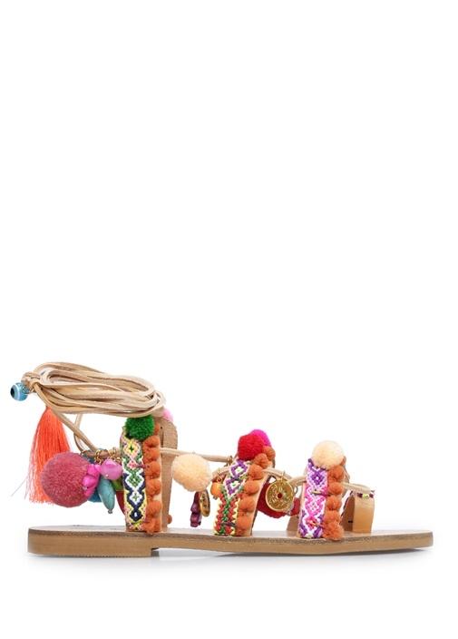 Elina Linardaki Çok Renkli KADIN  Penny Lane Kadın Sandalet 240569 Beymen