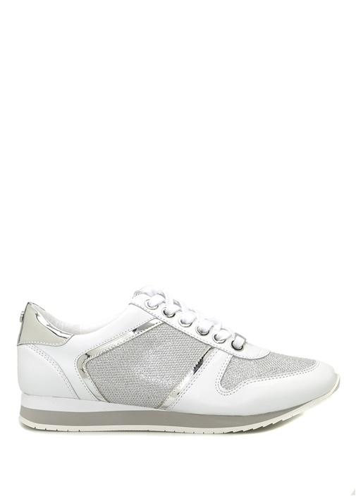 Carvela Beyaz KADIN  Flat Lace Up Trainers Deri Beyaz Kadın Sneaker 240303 Beymen