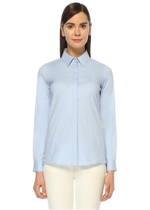 Mavi Oxford Klasik Fit Gömlek