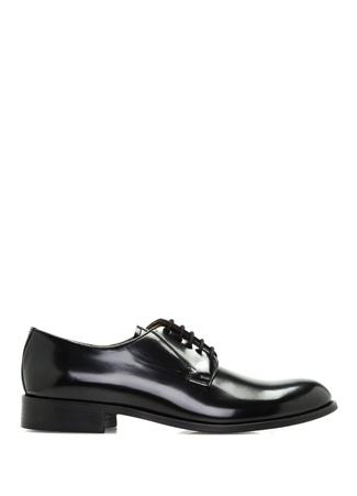 Siyah Açma Deri Klasik Erkek Ayakkabı