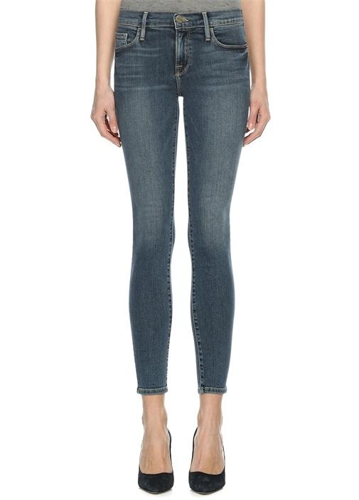 Frame Denım Skinny Fit Mavi Yüksek Bel Kadın Jean Pantolon – 1449.0 TL