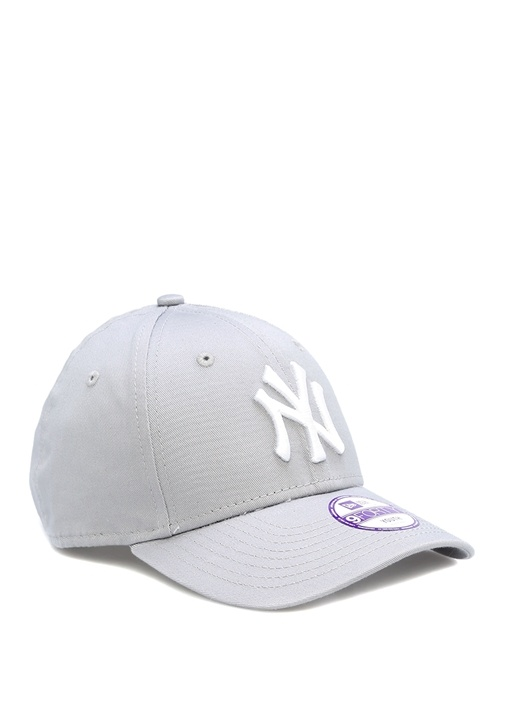 Beyaz Logo Işlemeli, Unisex Çocuk Şapka