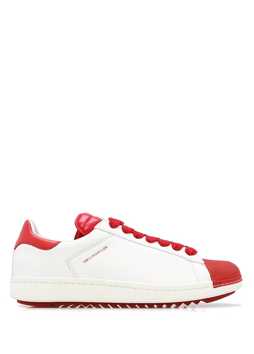 Kırmızı-Beyaz Kadın Sneaker