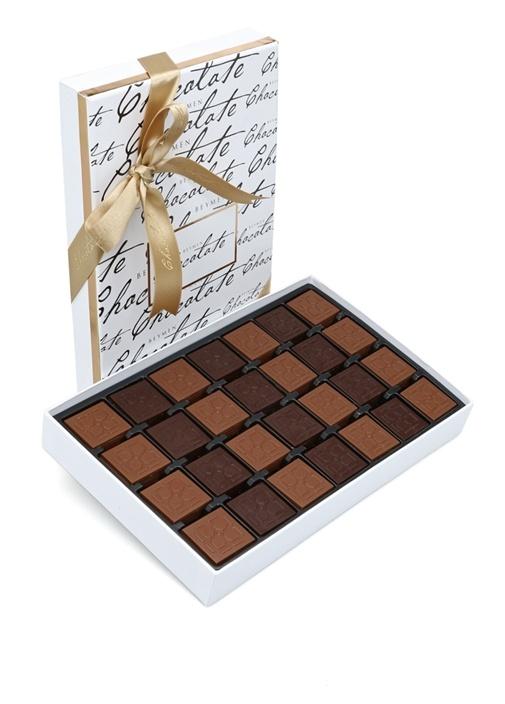 Sütlü ve Bitter Madlen 784 Gr Çikolata