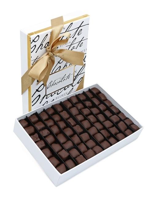 Bitter Çikolata Kaplı 680 Gr Fıstıklı Lokum