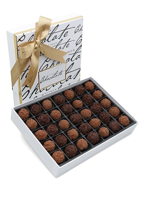 Sütlü Bitter Karışık 455 gr Truff Çikolata