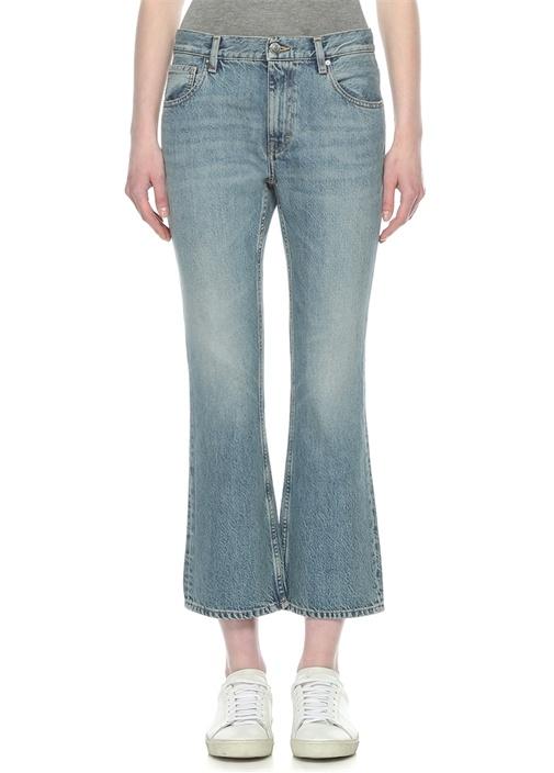Freya Normal Bel Bol Paça Crop Jean Pantolon