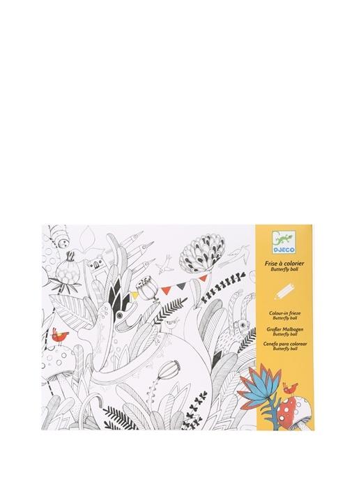Djeco çok Renkli Kids Colouring Suprises Butterfly Ball Boyama